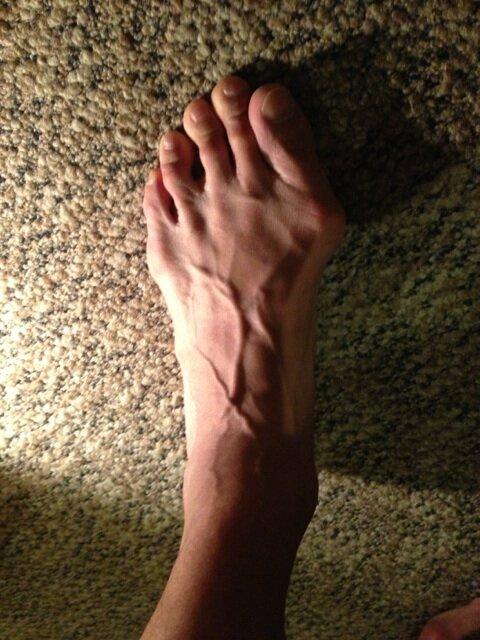 武井壮の足