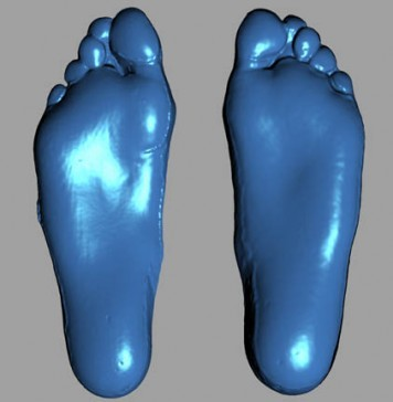 ウサインボルトの足
